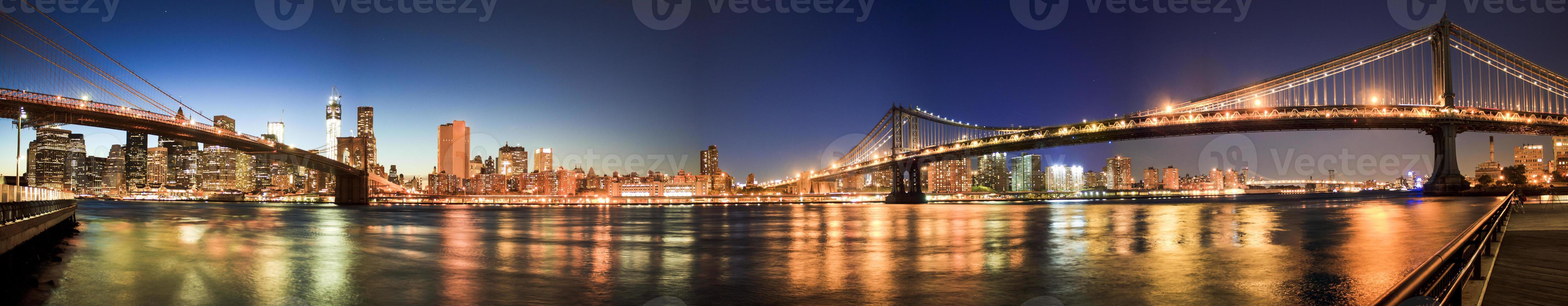 panorama di New York foto