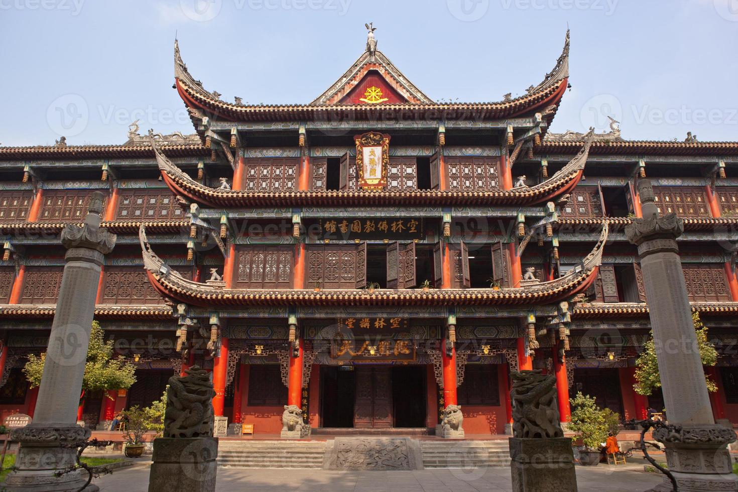 monastero di Wenshu a Chengdu foto