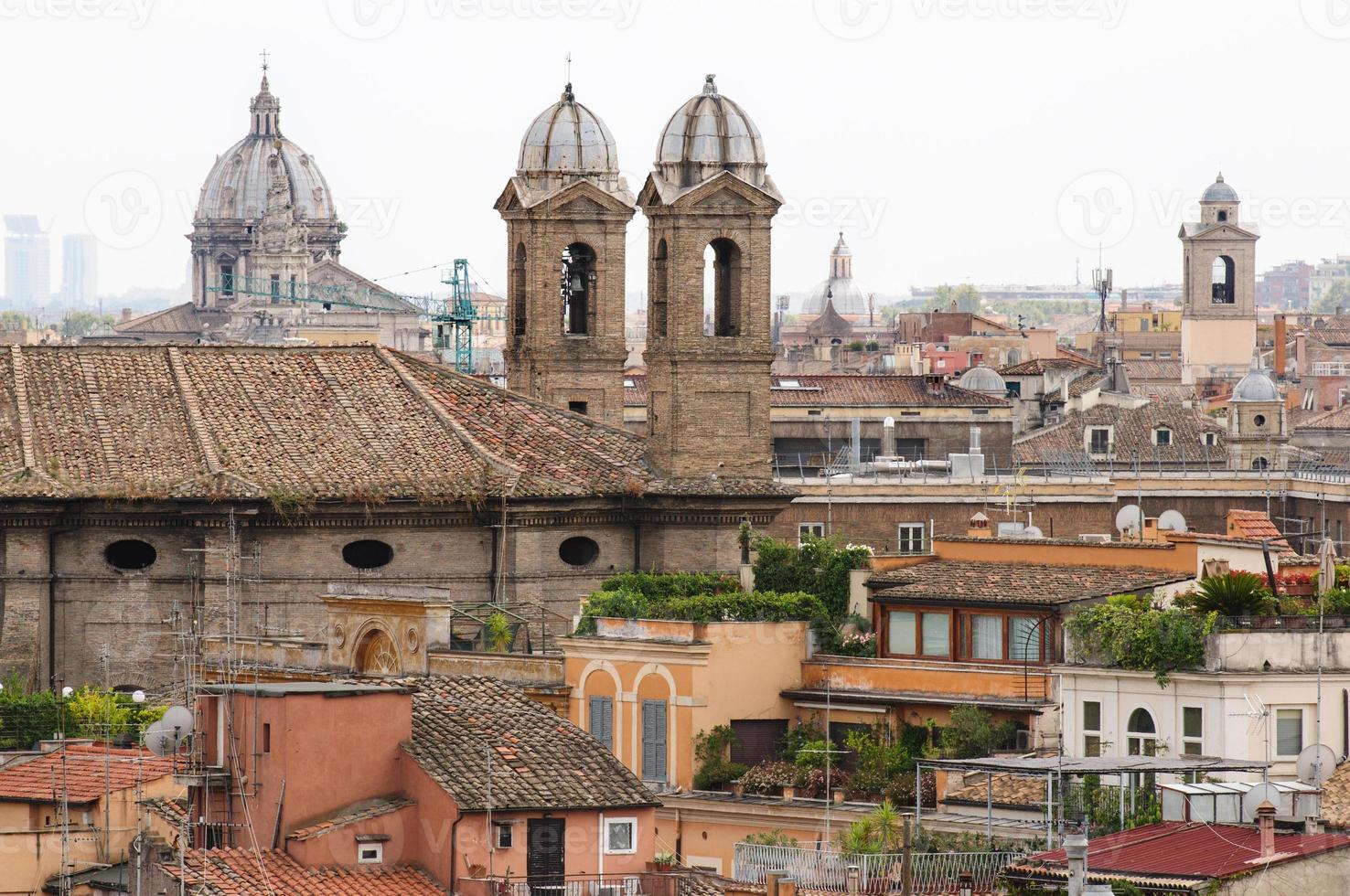tetti di Roma foto