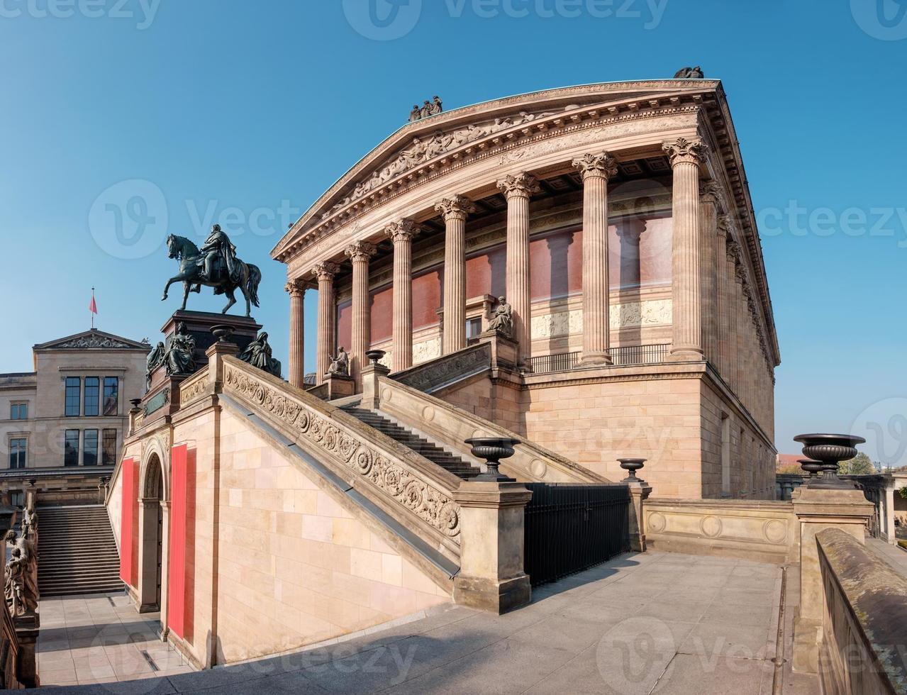 vecchia galleria nazionale di Berlino foto