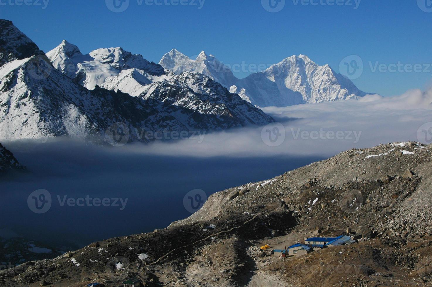 gokyo ri. Nepal Himalaya. foto