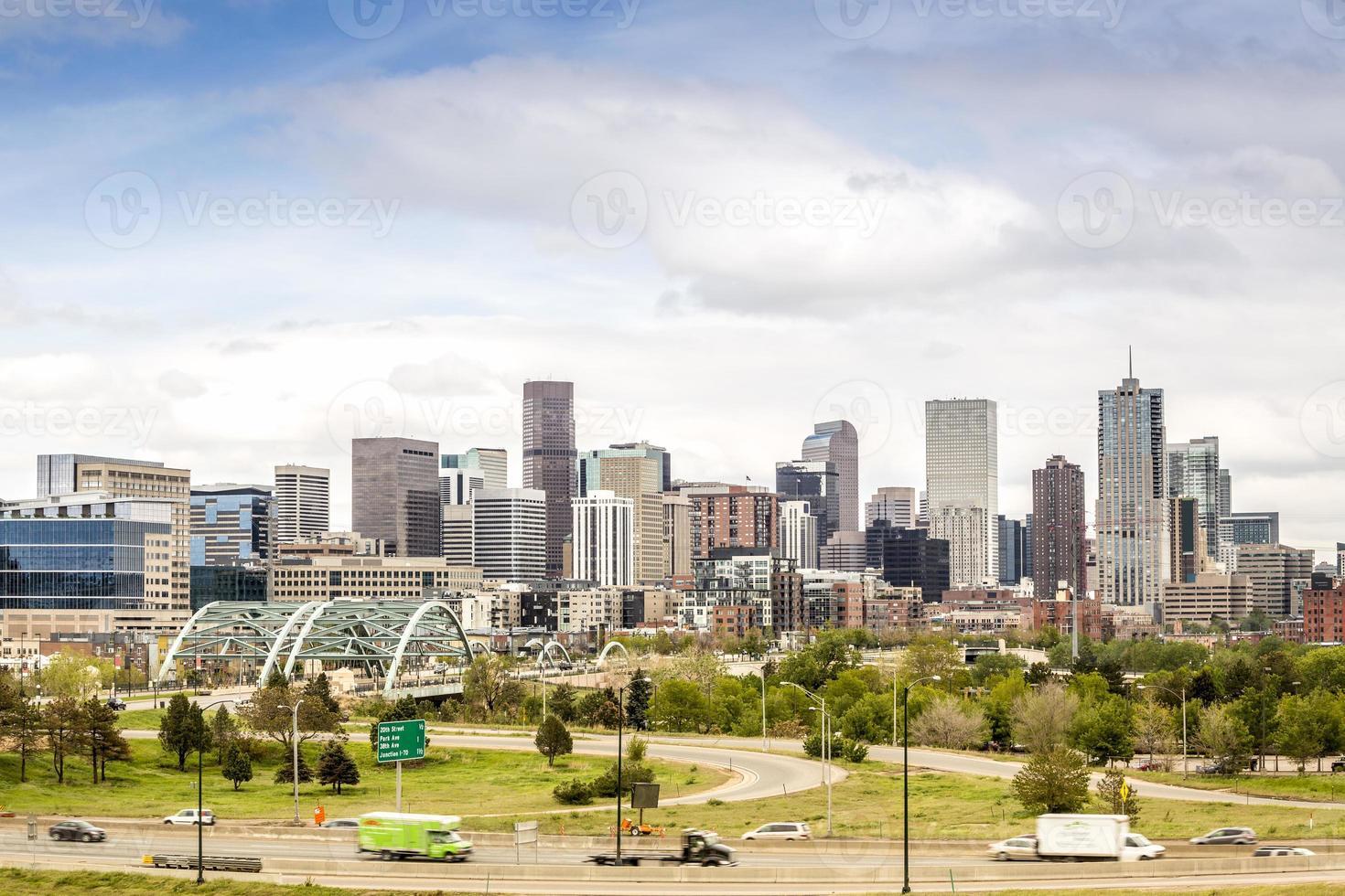 Skyline di Denver foto