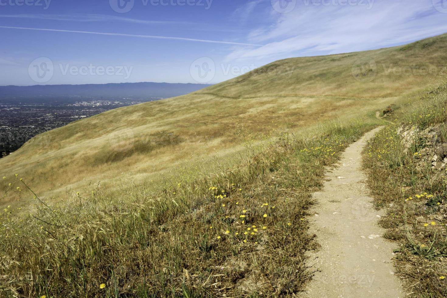 sentiero con vista foto