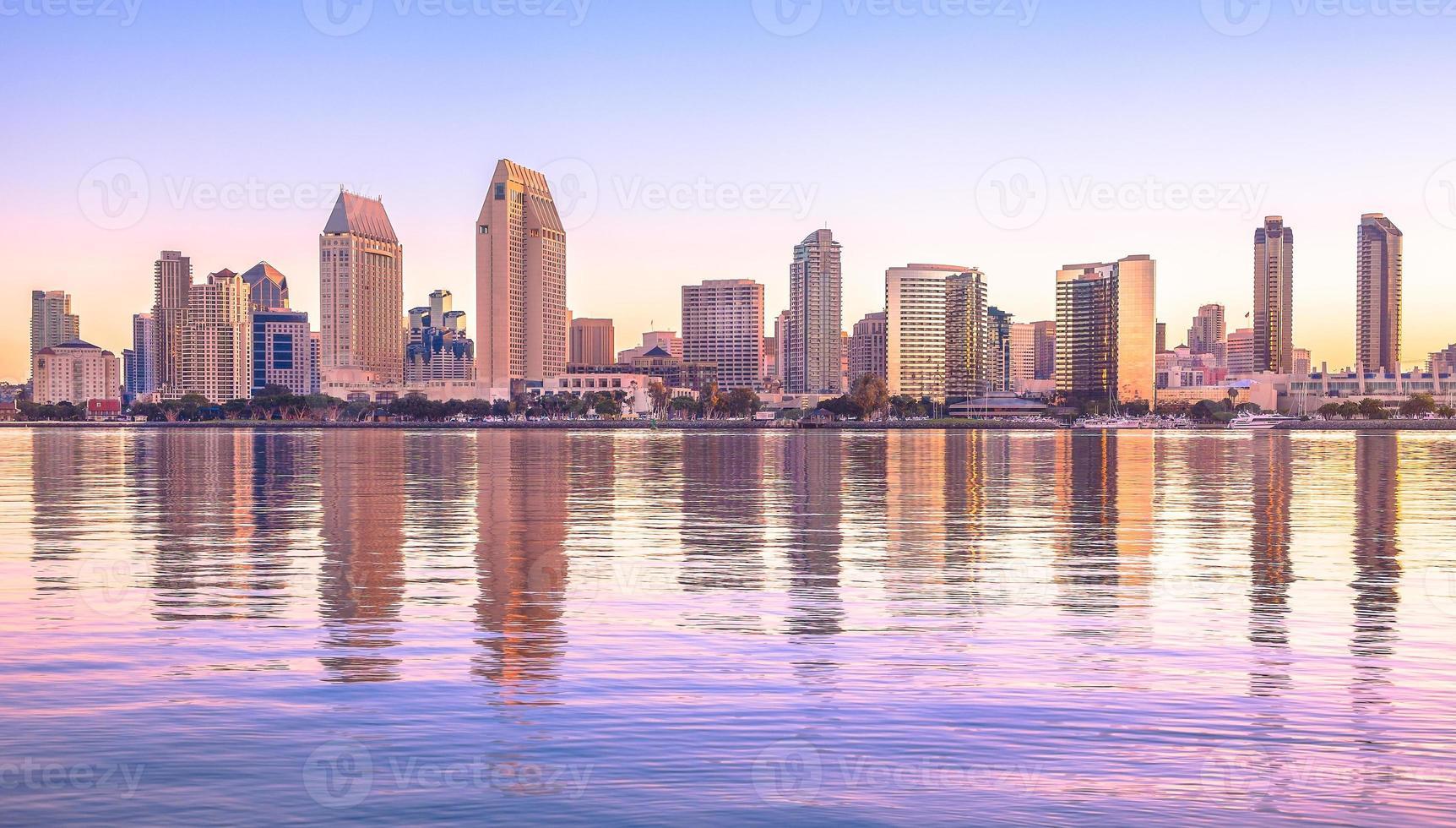 centro città di san diego, california usa foto