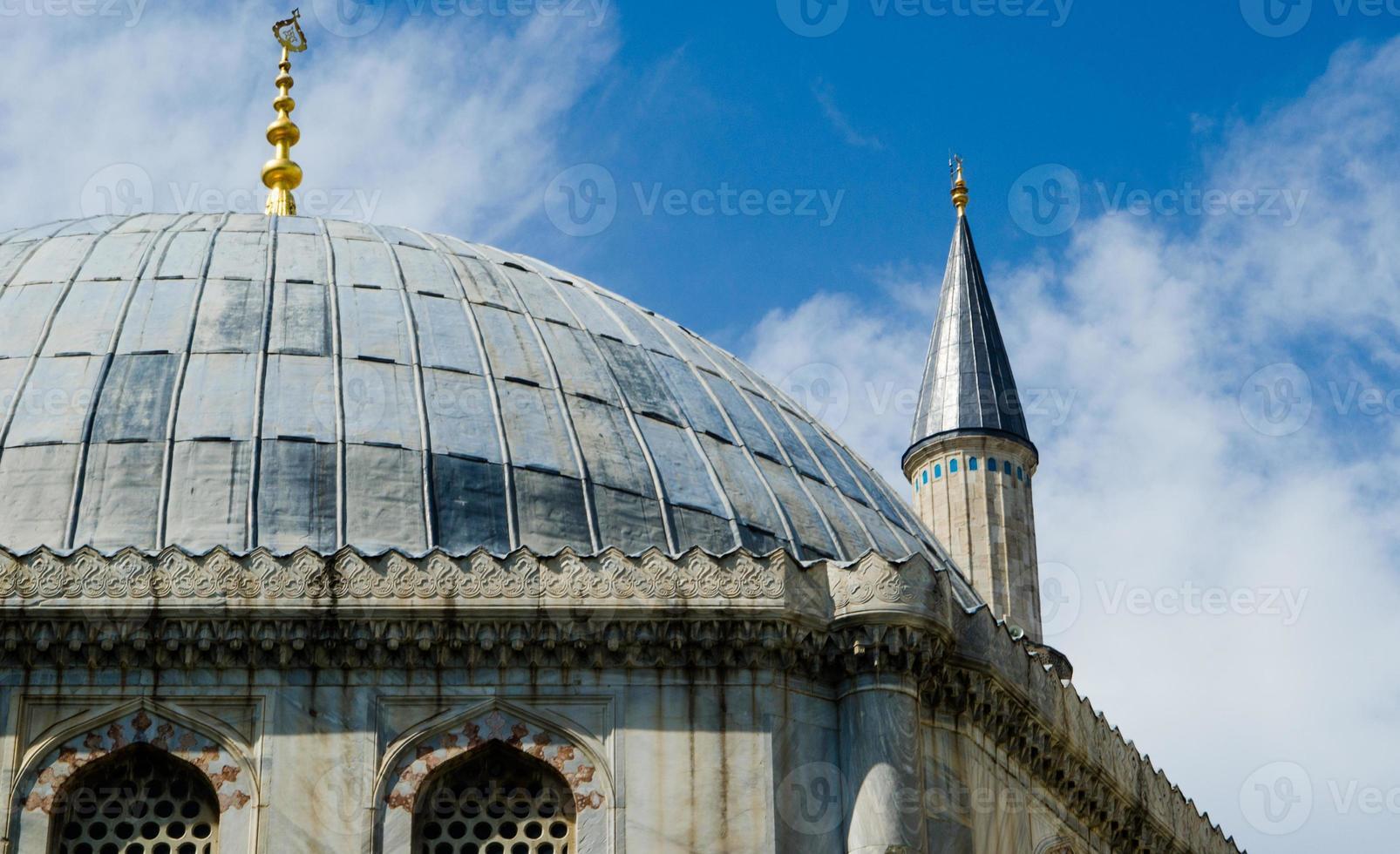 hagia sophia di istanbul foto