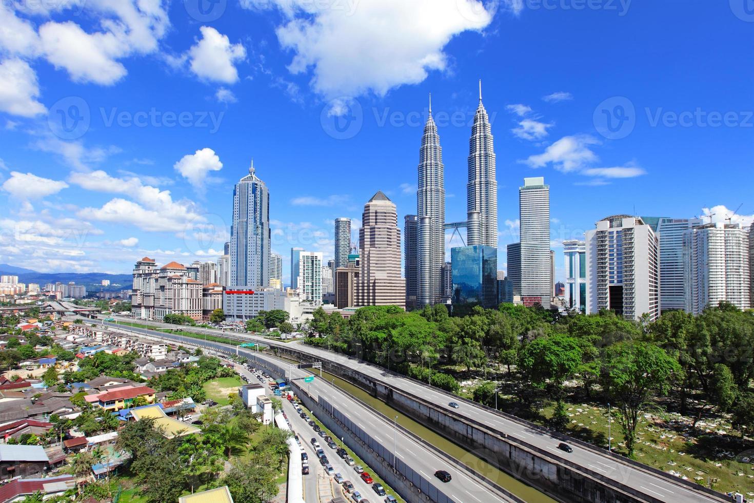 Skyline di Kuala Lumpur foto