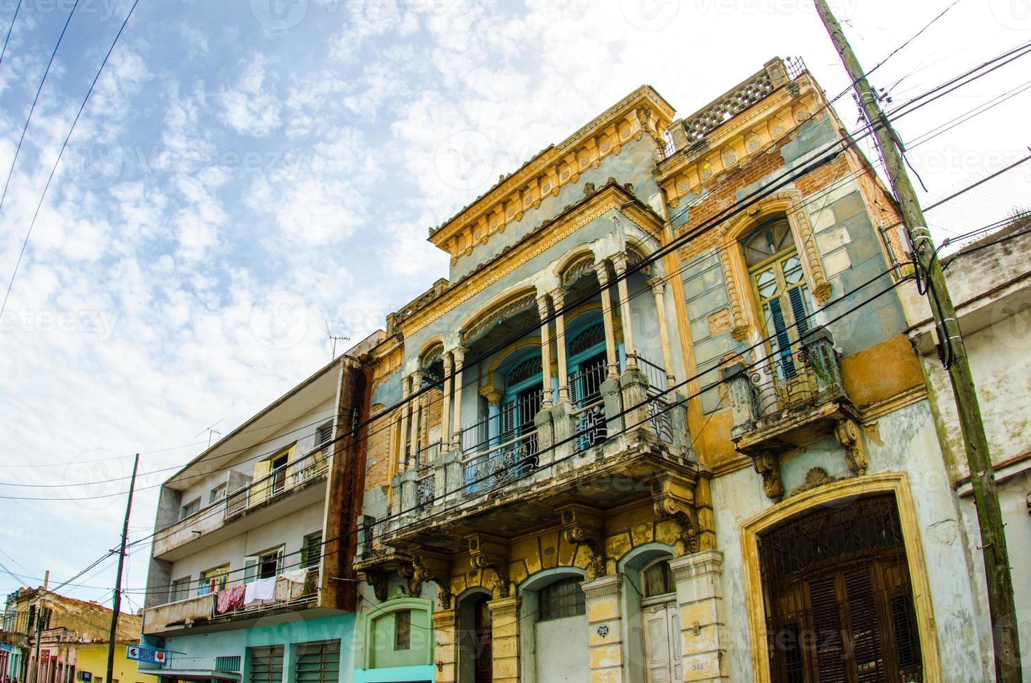 strade cubane foto