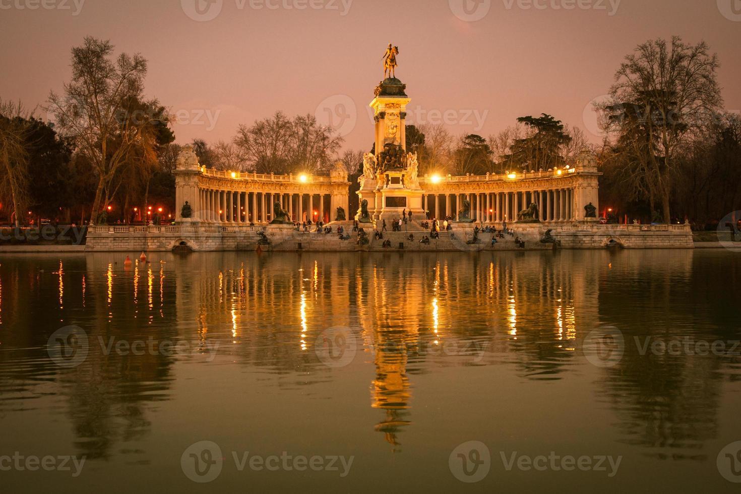 Retiro, Madrid, Spagna foto