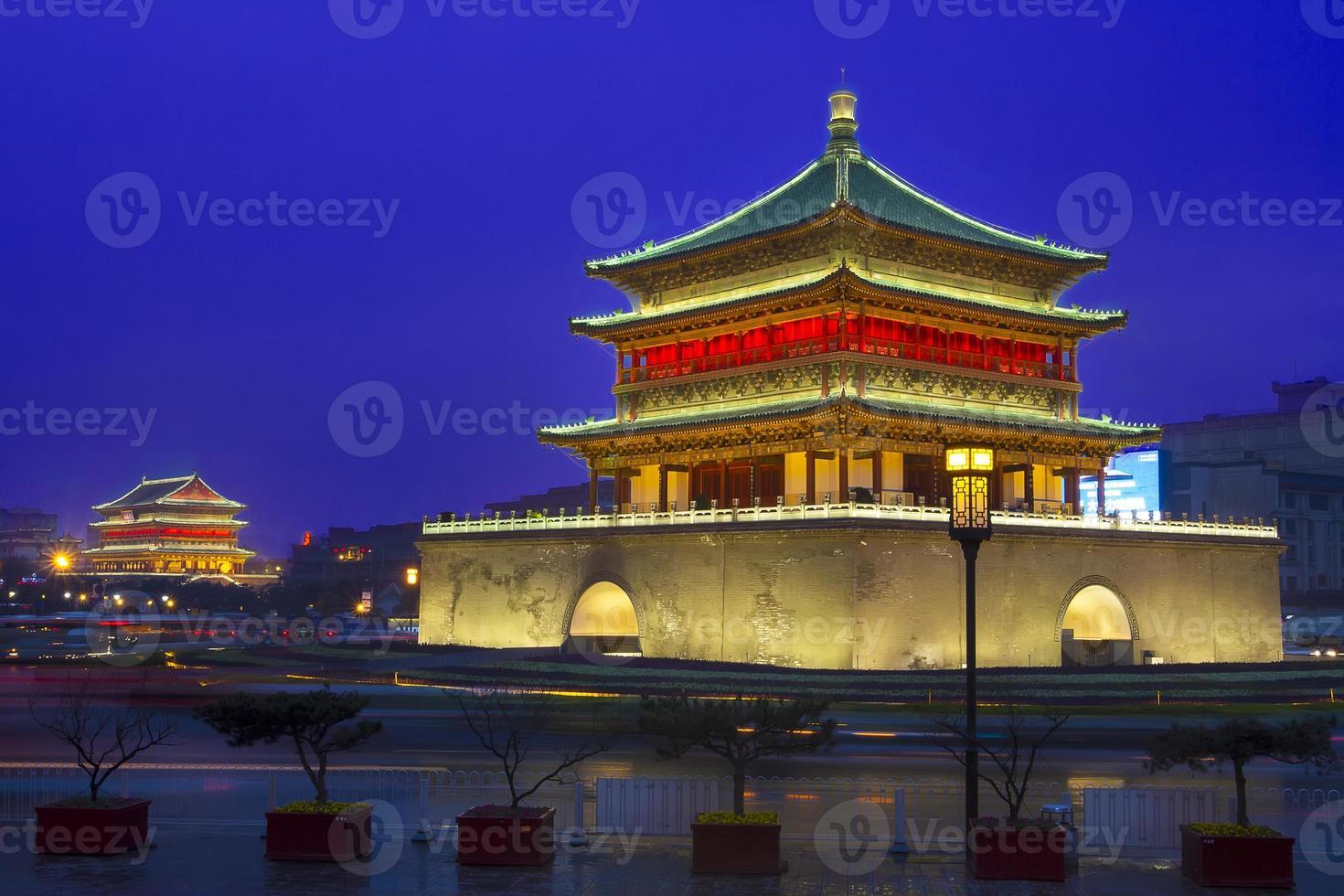 campanile a Xi'an foto