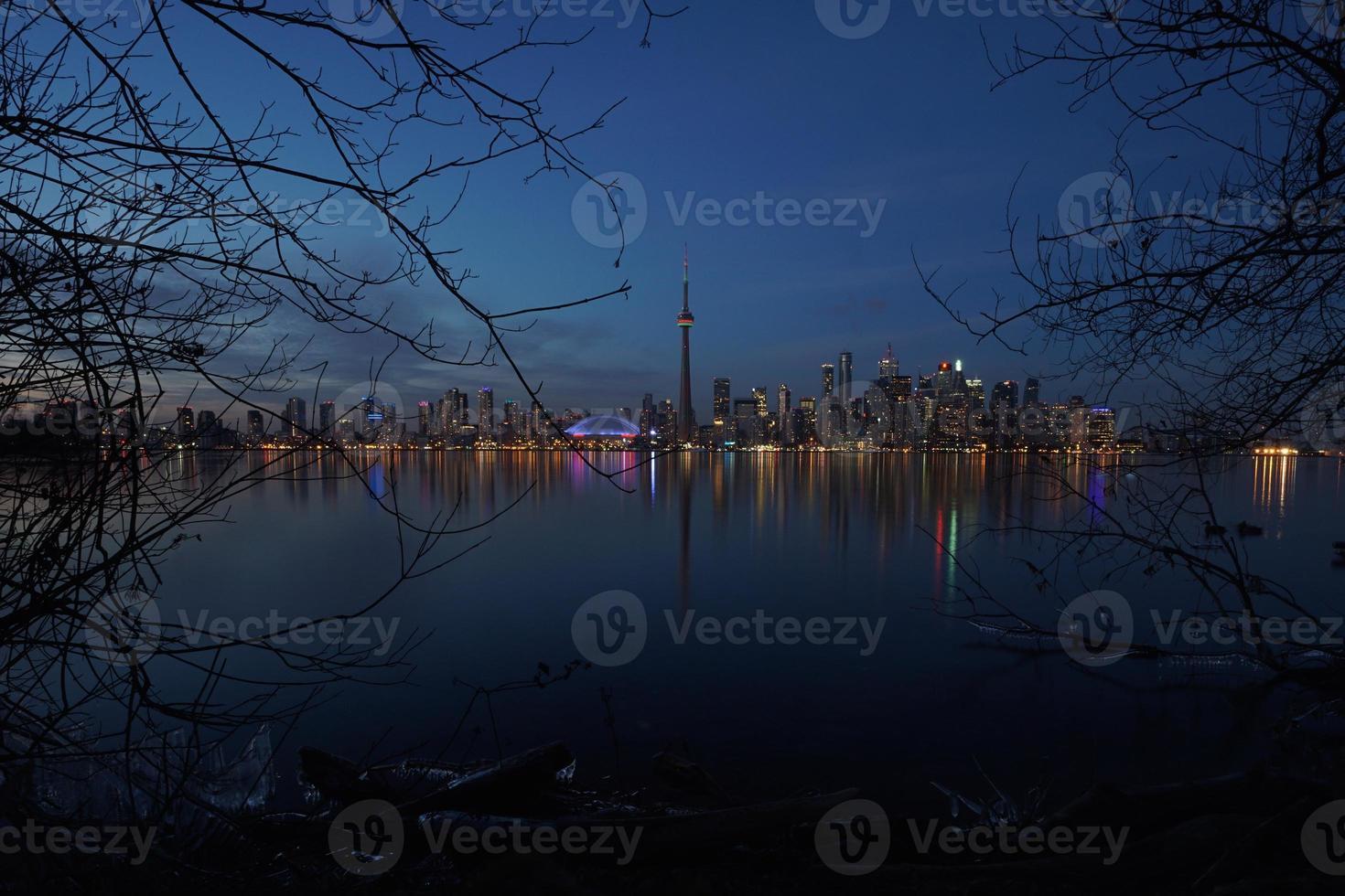 skyline di toronto 2014 foto