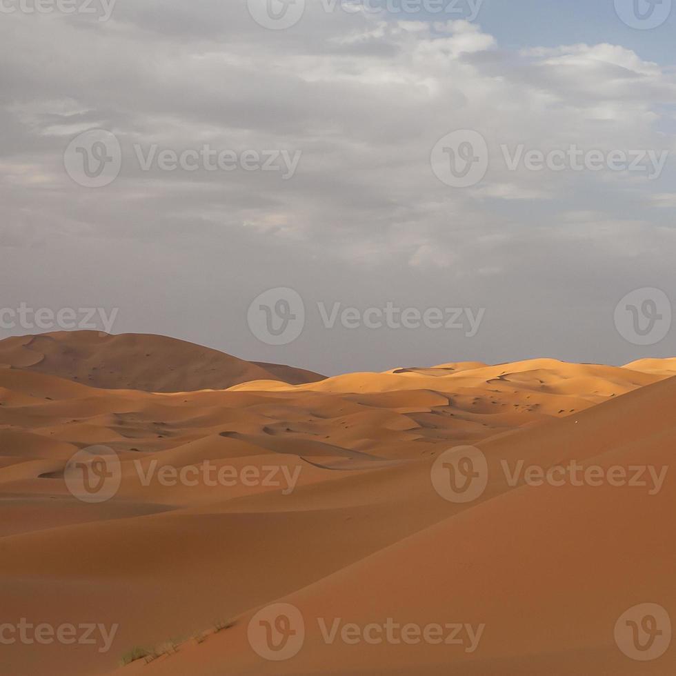 erg chebbi in marocco foto