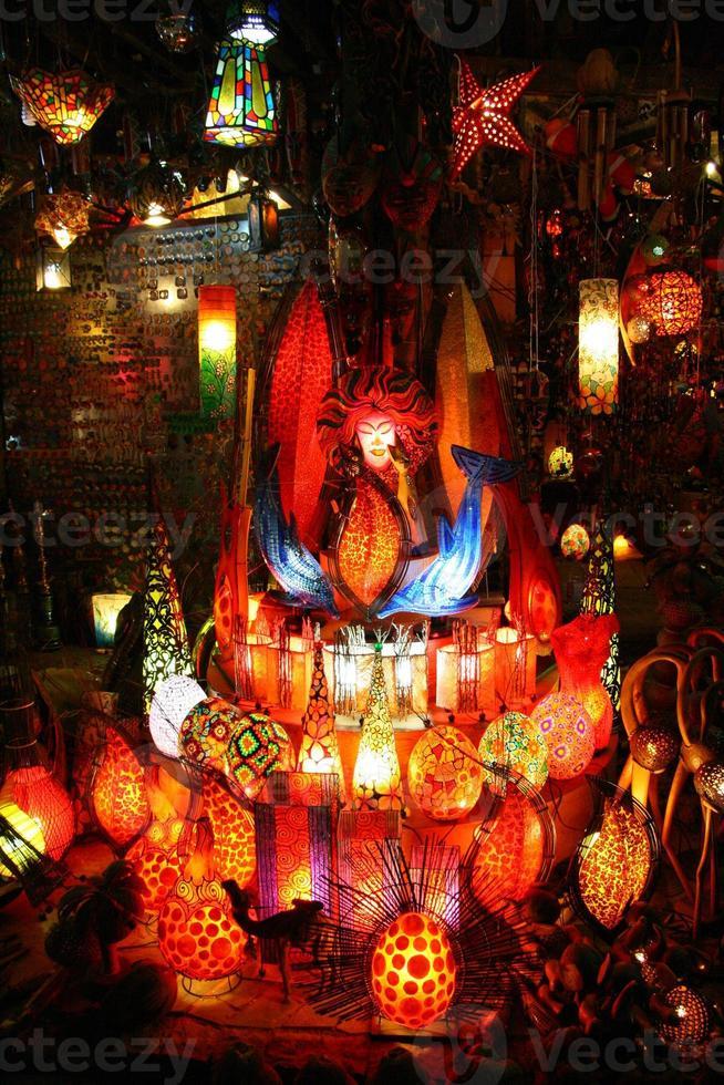 laterns nel gran bazar, istanbul, turchia foto