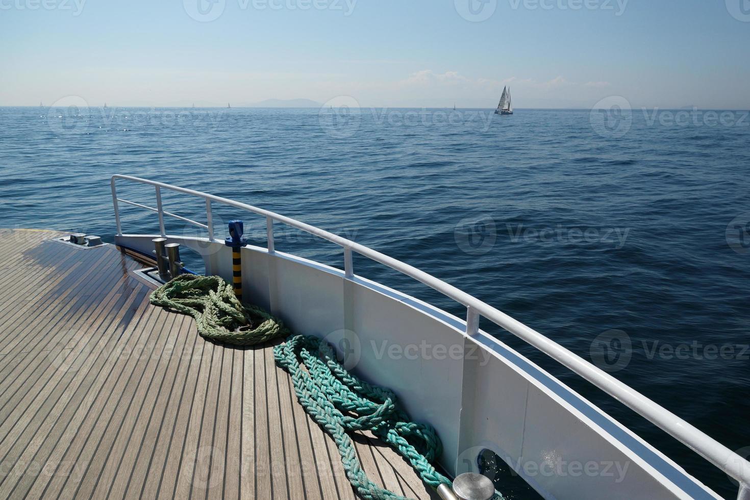 vela sul mare di Marmara foto