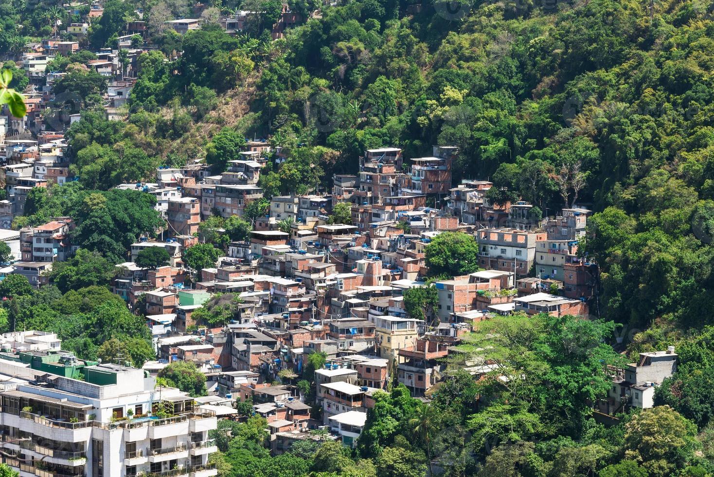 favela a rio de janeiro foto