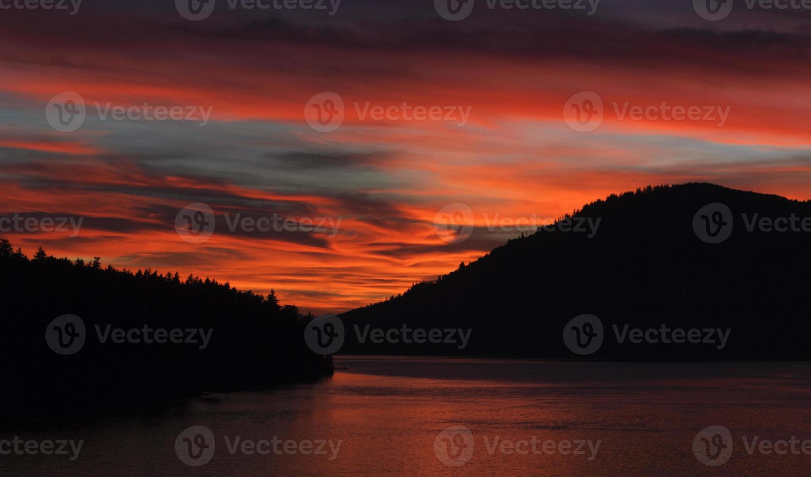 tramonto romantico foto
