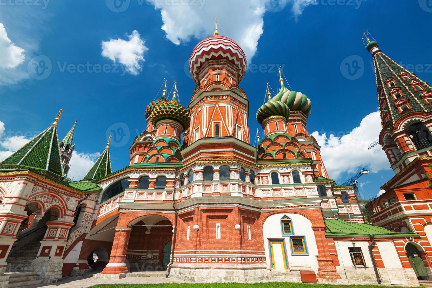 Cattedrale di San Basilio sulla piazza rossa di Mosca, russia foto