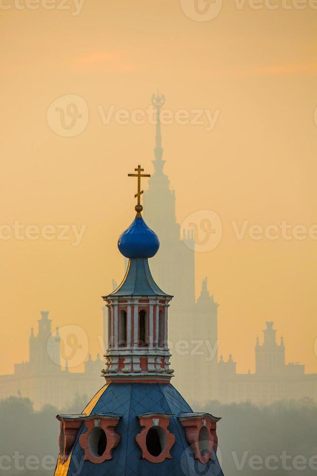 st. andrew's monastery (mosca) foto