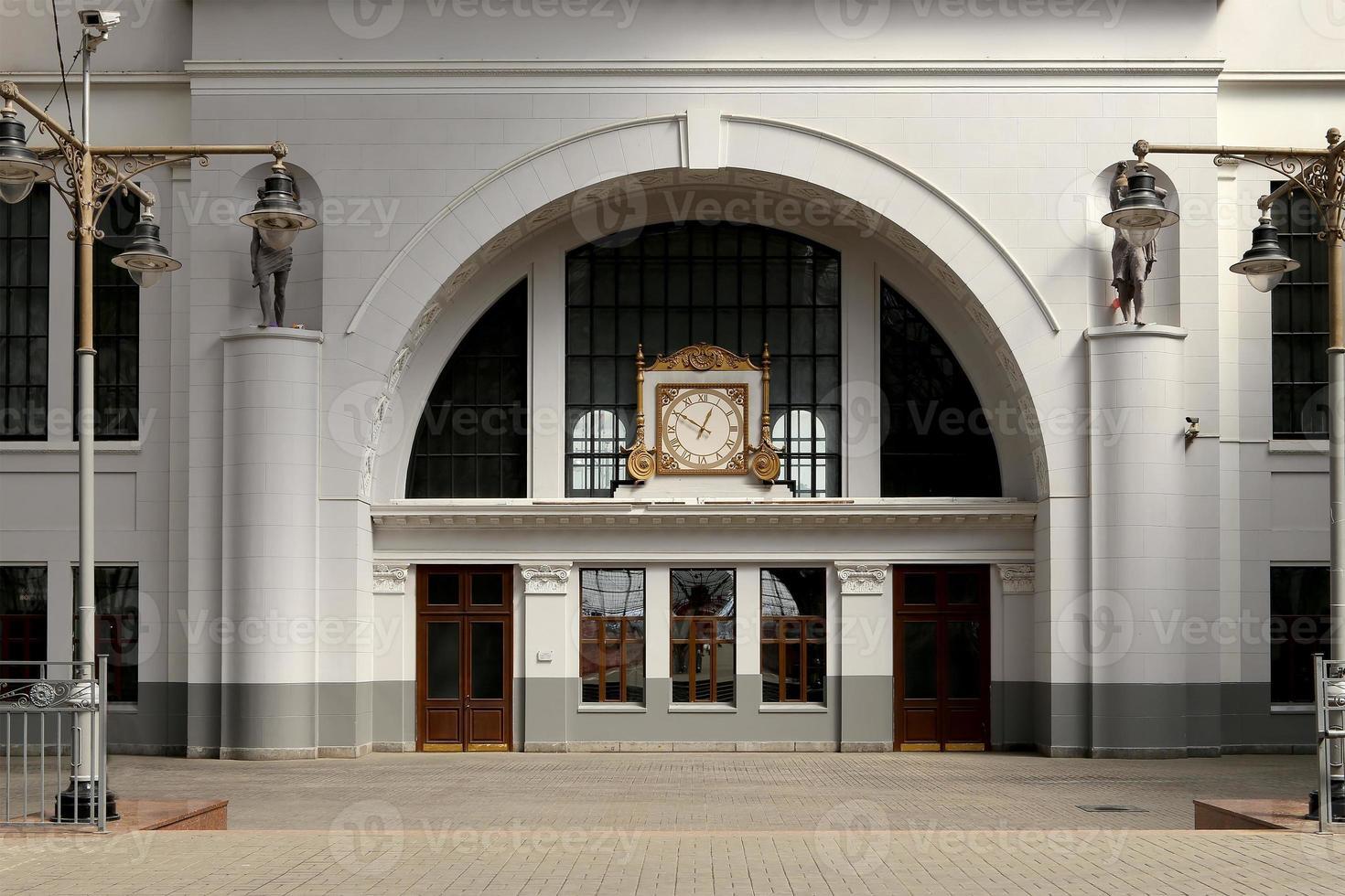 kiyevskaya stazione ferroviaria di mosca, russia foto