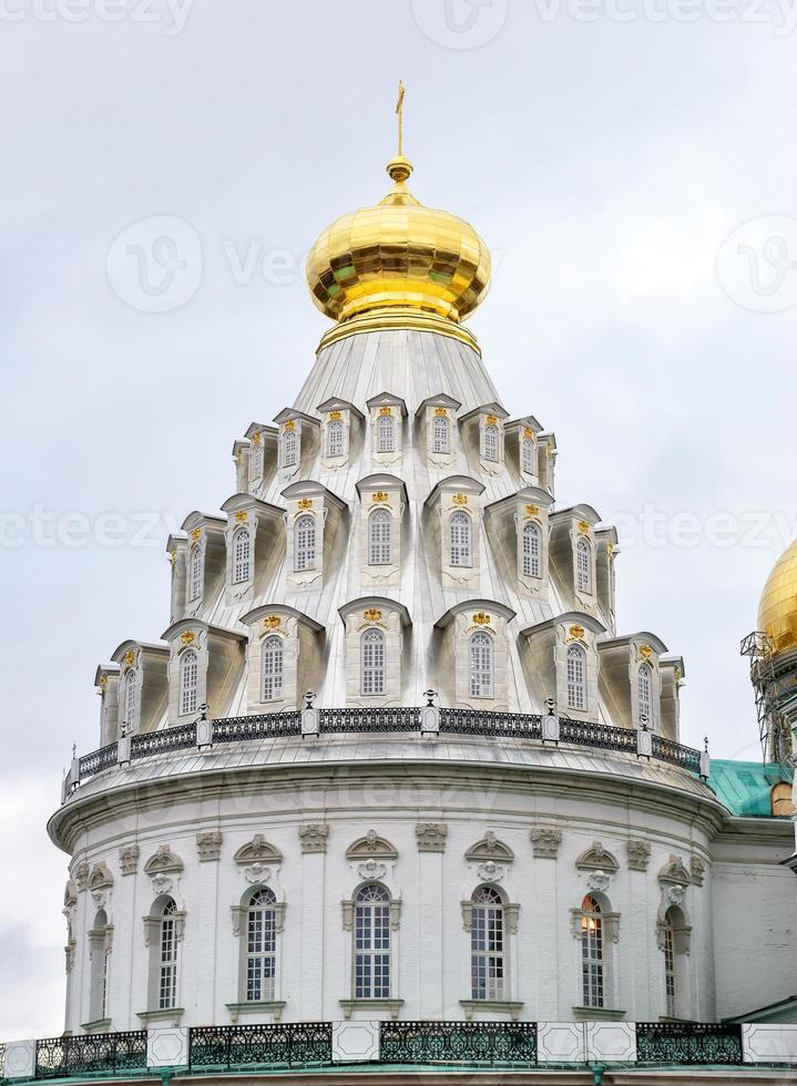 la rotonda della cattedrale della risurrezione nel nuovo monastero di Gerusalemme foto