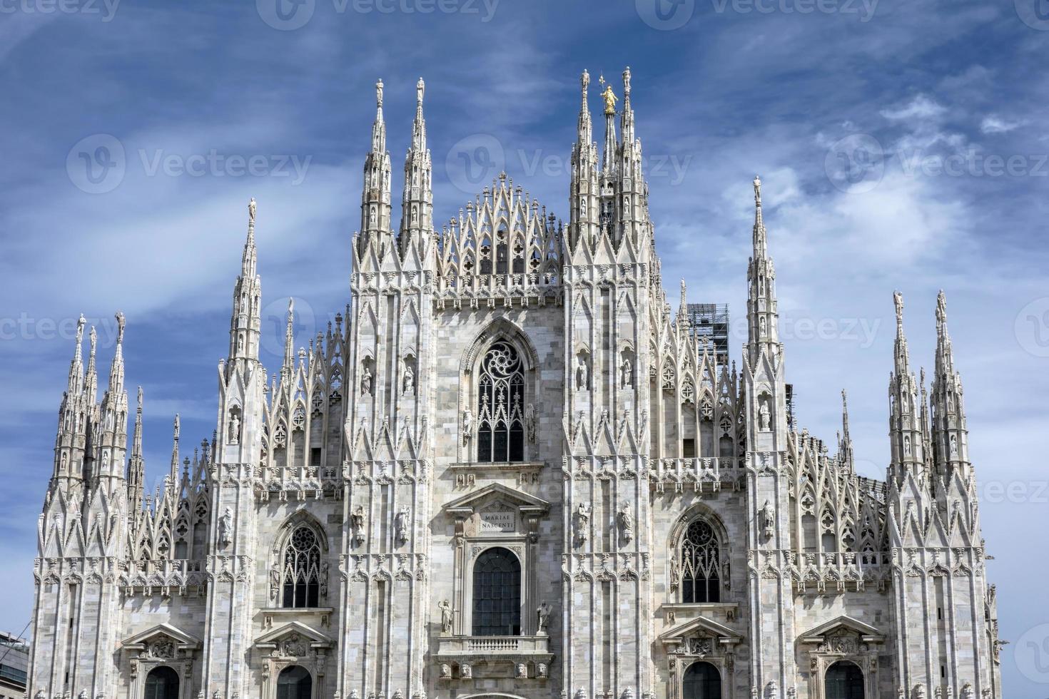 duomo della cattedrale a Milano Italia foto