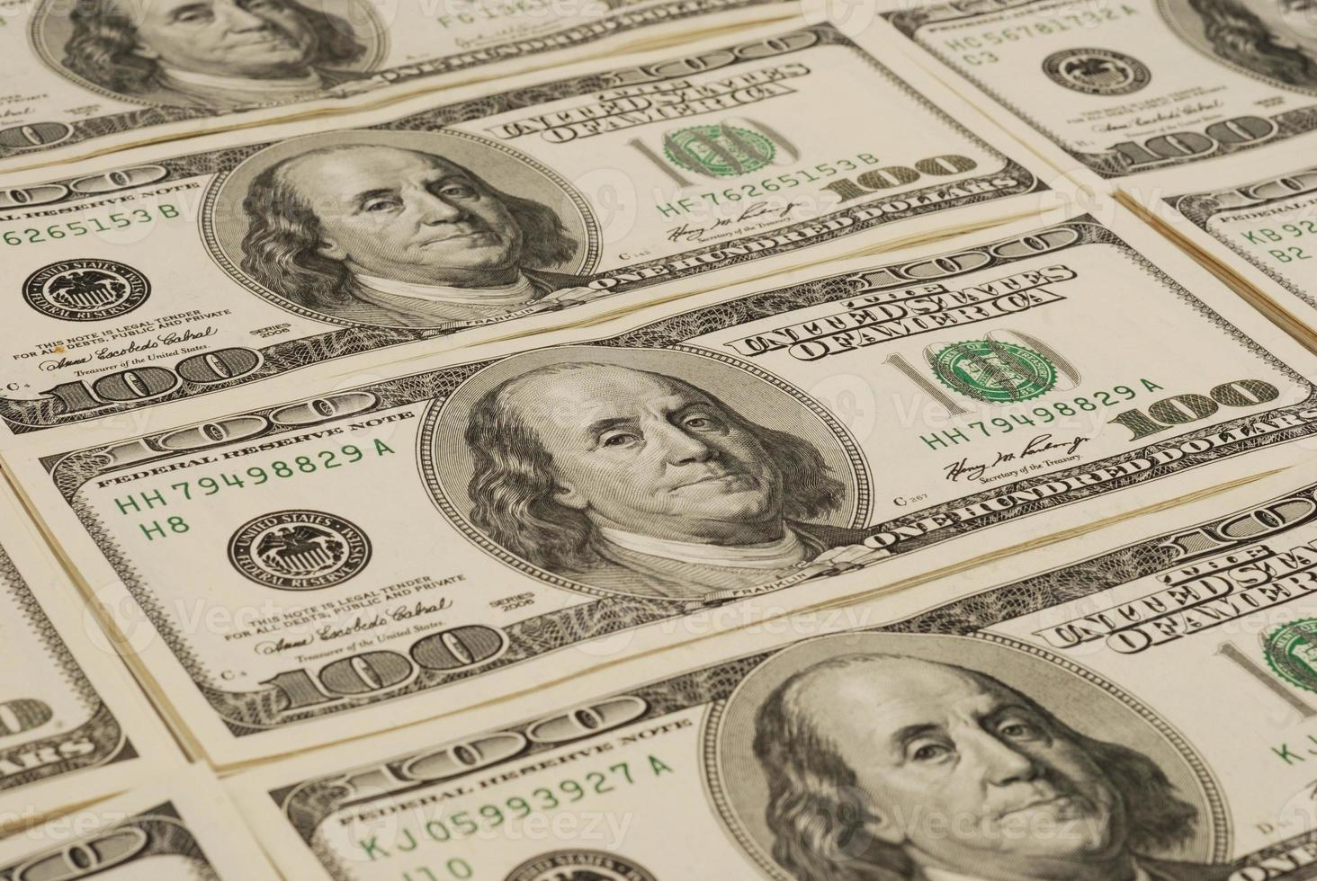 fondo dei soldi della banconota del dollaro foto