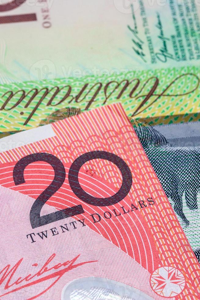 banconota da venti dollari australiani ($ 20) foto