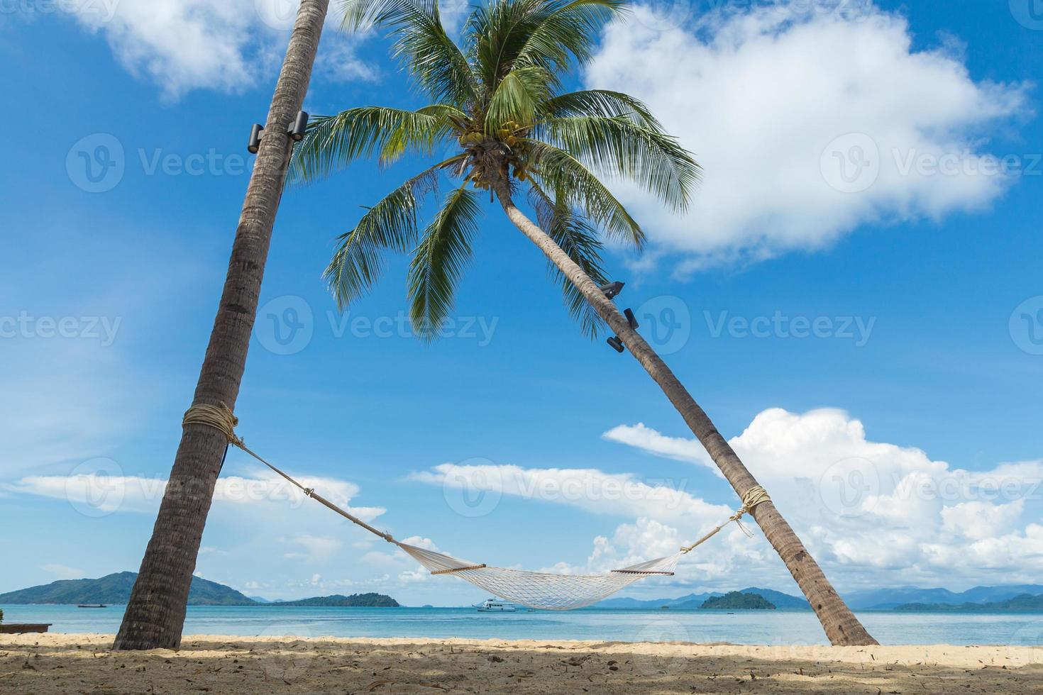 barella da spiaggia foto