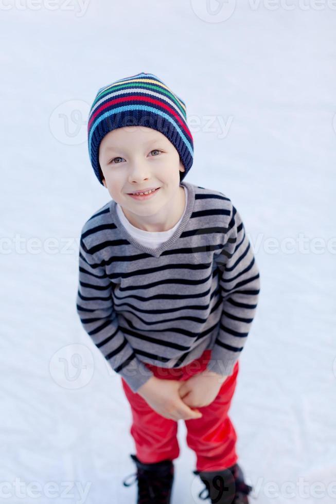 pattinaggio su ghiaccio per bambini foto