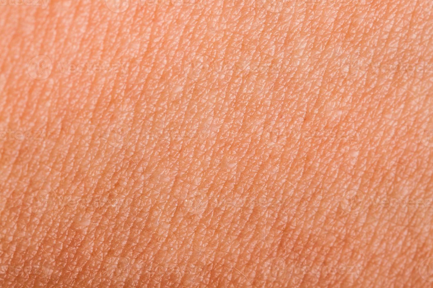 pelle umana da vicino foto