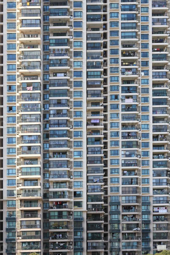 primo piano degli appartamenti di Schang-Hai foto