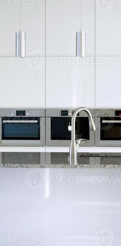 primo piano cucina moderna foto