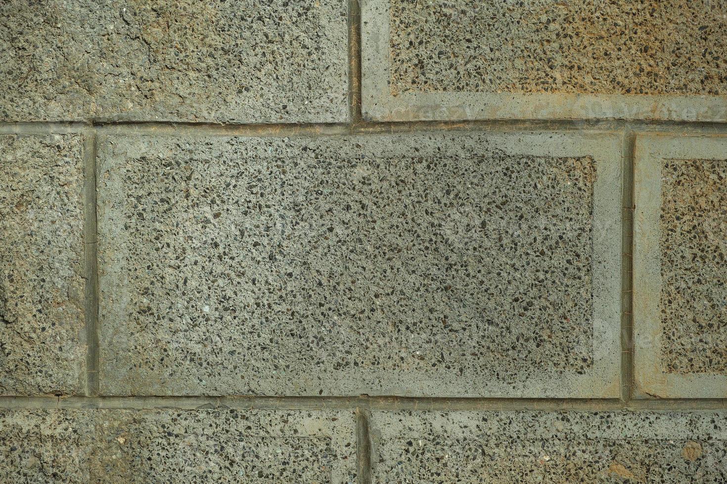 primo piano del muro di pietra foto