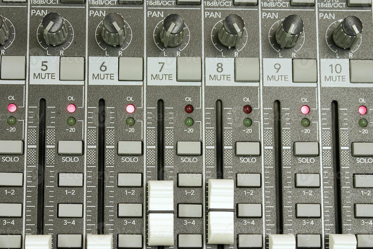 scheda audio da vicino foto