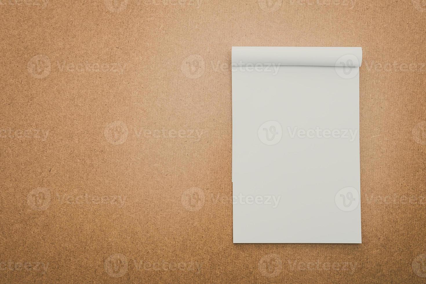 libro bianco mock up foto