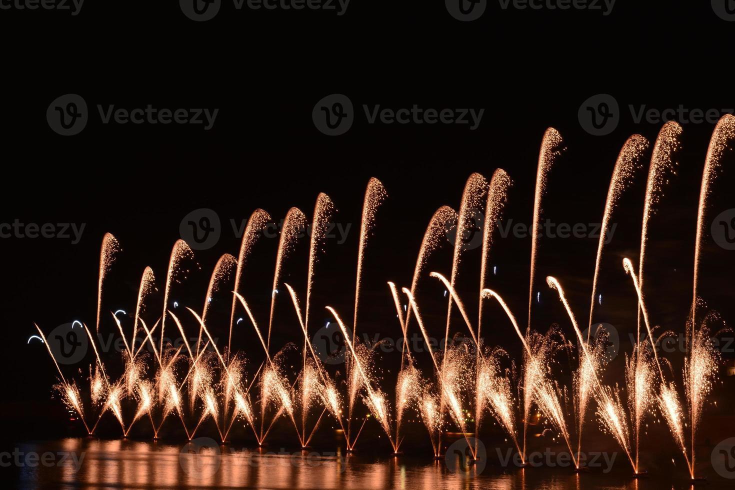 festival dei fuochi d'artificio - Malta foto