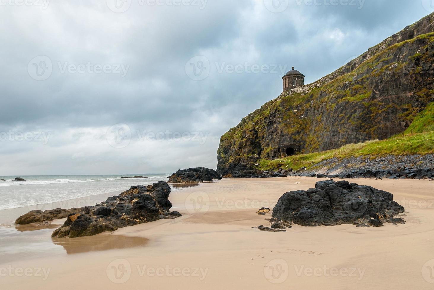 spiaggia in discesa foto