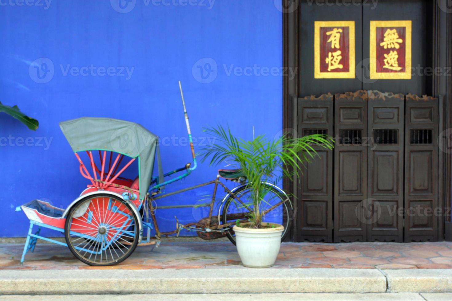 cheong fatt tze mansion, penang, malesia foto