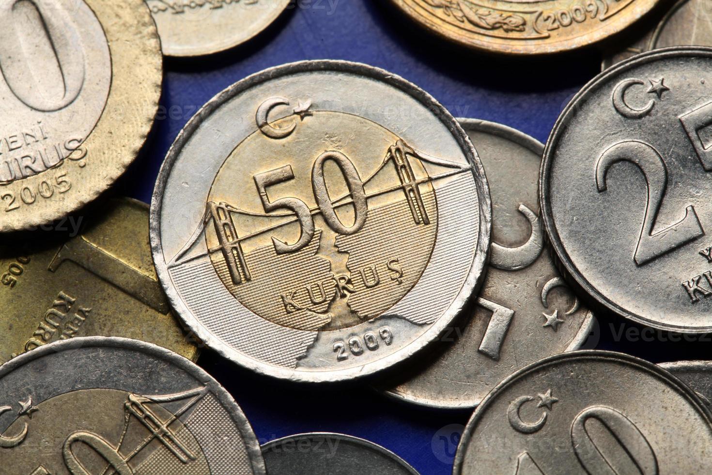 monete di tacchino foto