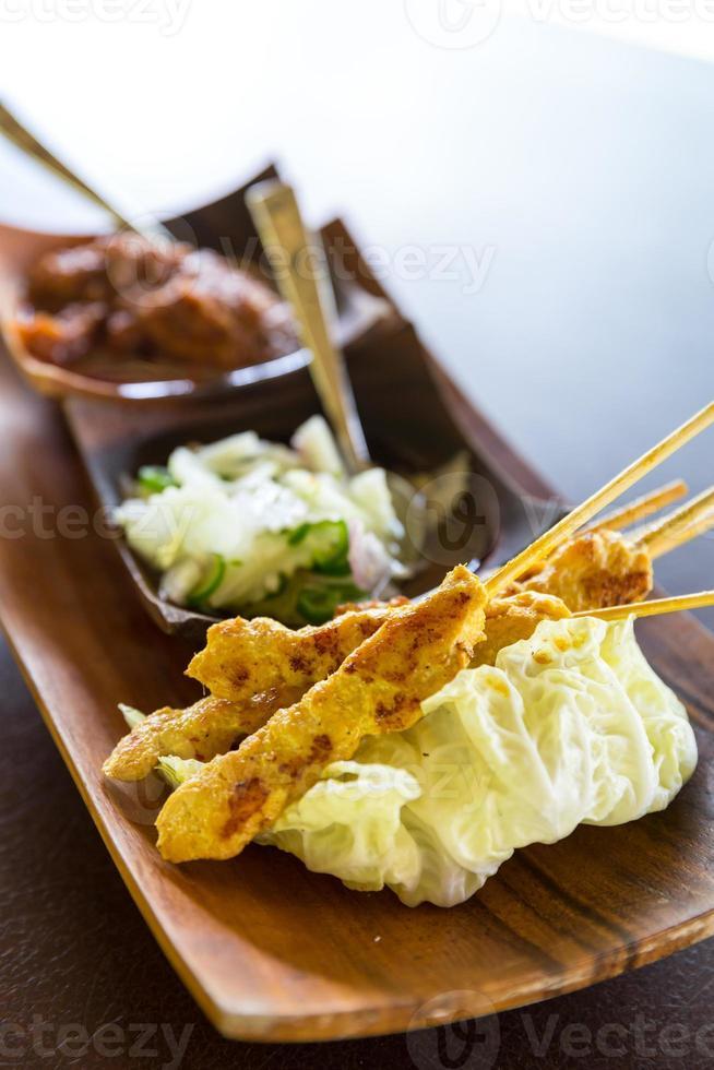 pollo al satay foto