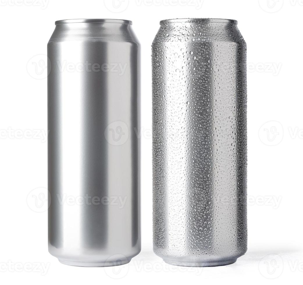 lattina di birra foto