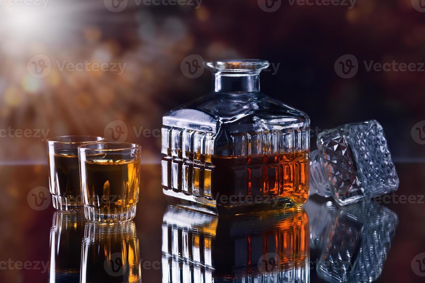 decanter per whisky foto