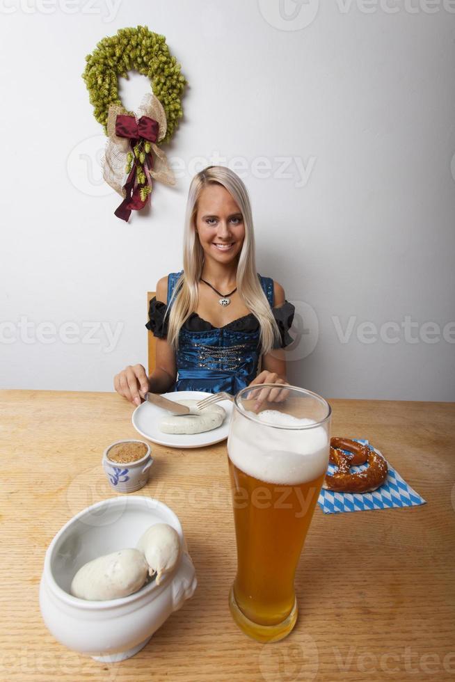 donna salsiccia foto