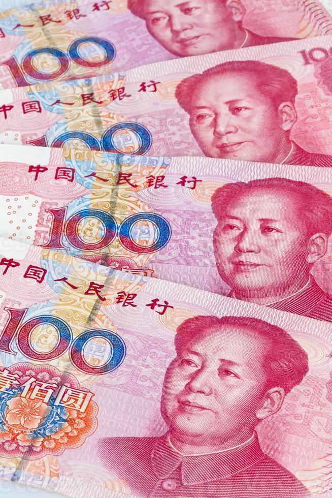 Cina yuan soldi. valuta cinese foto