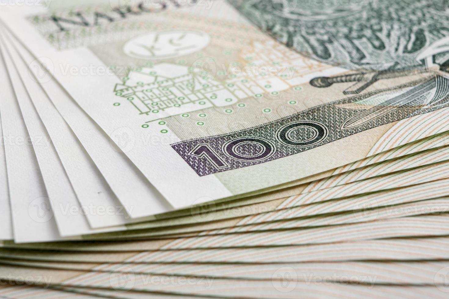 banconota 100 pln foto