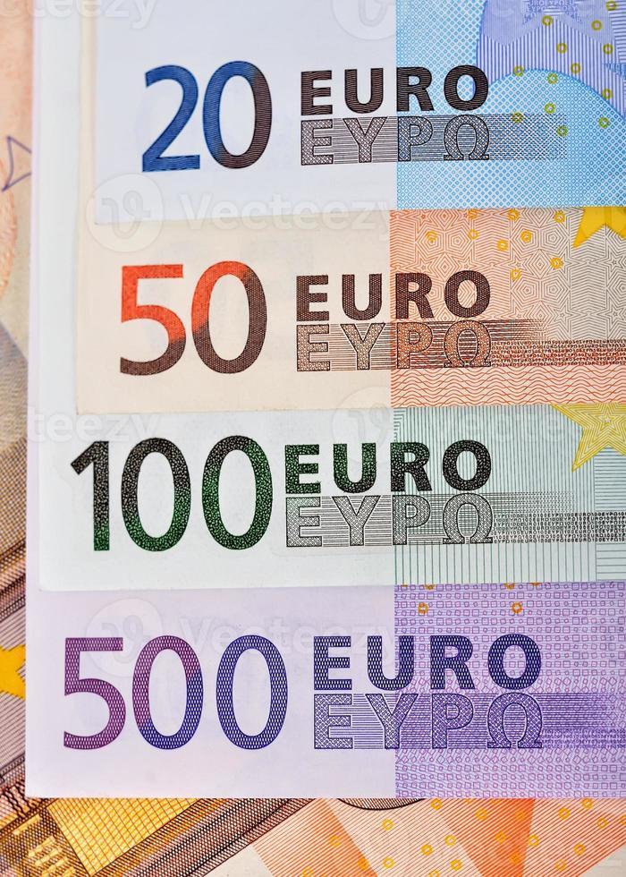 banconota in euro foto