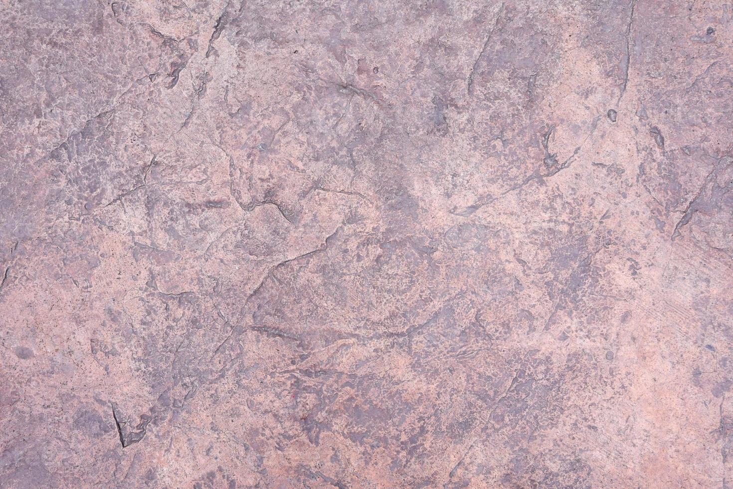 frammento di muro di cemento vecchio weathered crack, struttura del pavimento di cemento incrinato foto