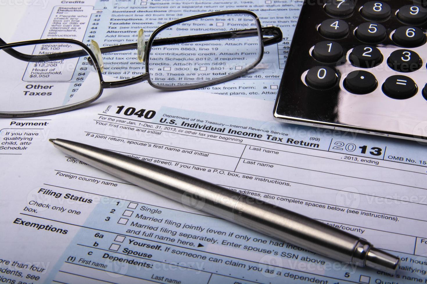 modulo fiscale 1040 foto