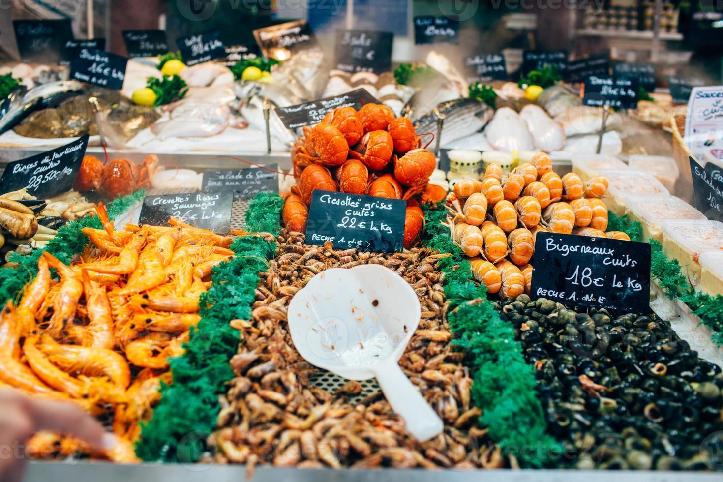 mercato del pesce foto