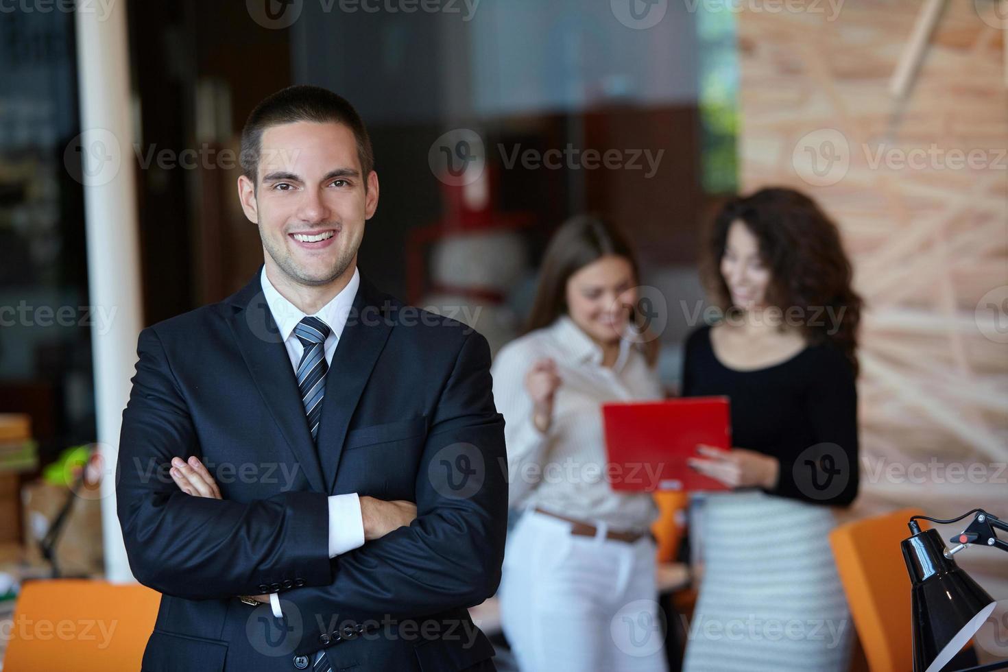 Uomo d'affari di successo foto