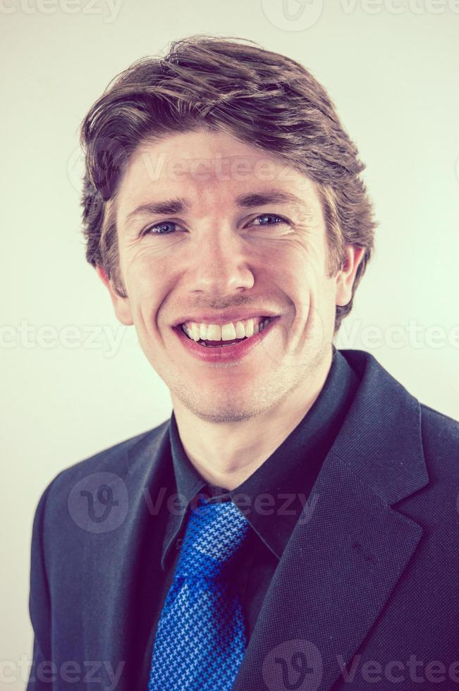 uomo d'affari sorridente foto